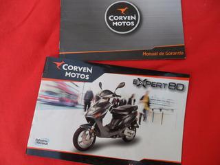 Expert 80 Corven Moto Scooter Manual No Antiparra Vespa