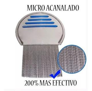 Peine Para Eliminar Piojos Microacanalado