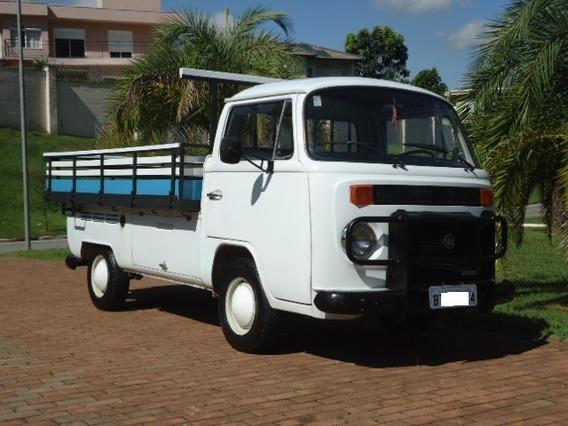Vw - Volkswagen Kombi Pick Up 1.6 Diesel 1981 Raríssima