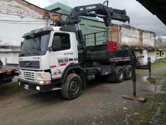 Camion Grua Volvo Fm 10