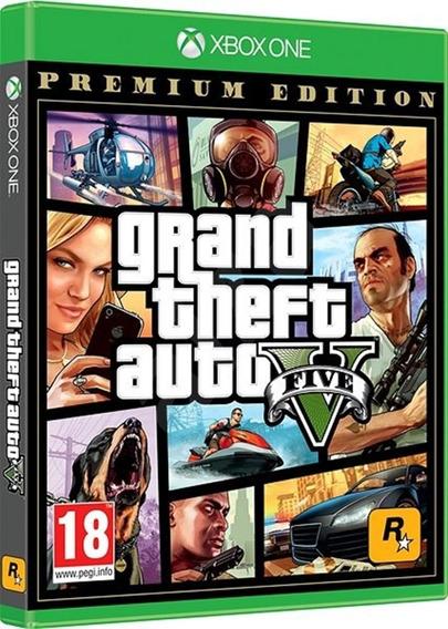 Game Grand Theft Auto V Gta 5 Xbox One Disco Físico Original