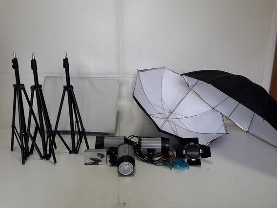 Kit Flash Para Studio Fotografico