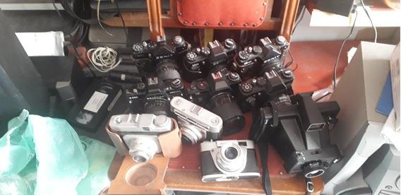 Lote C Várias Máquinas Fotográficas No Estado