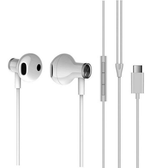 Auriculares Xiaomi Mi Dual Drivers Earphones Tipo-c Blanco