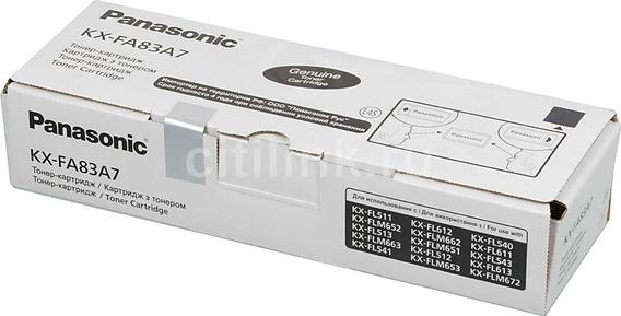 Toner Panasonic Kx-fl513 Kx-flm651 Kx-fl543 Orig Kx-fa83a