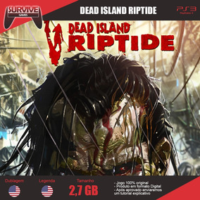Dead Island Riptide Ps3 - Codigo Psn - Envio Imediato