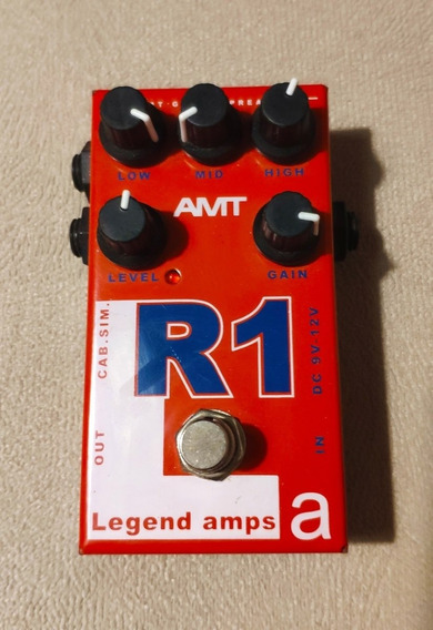 Pedal Amt R1 Pre Amp Rectifier