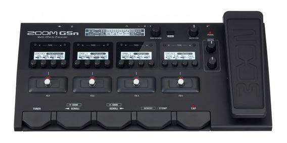 Pedaleira Zoom G5n + Fonte Original Bi-volt/nova/versão 3.0