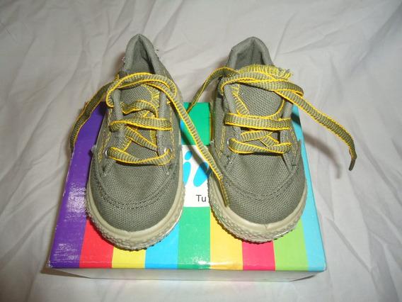 Zapatillas Elimar Infantiles De Lona 18 Al 20