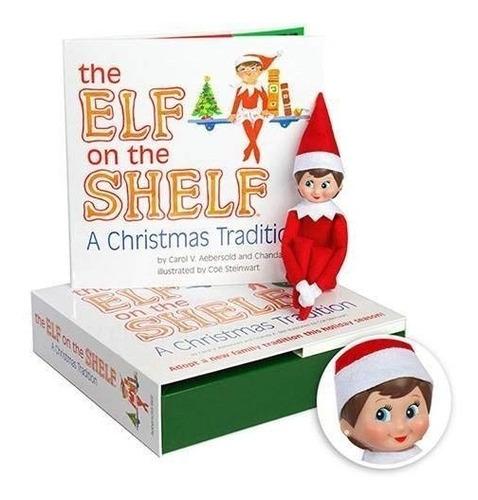 The Elf On The Shelf Niña Libro Ilustrado En Ingles Original