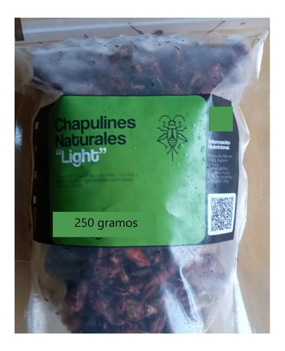 Imagen 1 de 2 de 1/4 Kilo De Chapulines Deshidratados Sal Y Limon