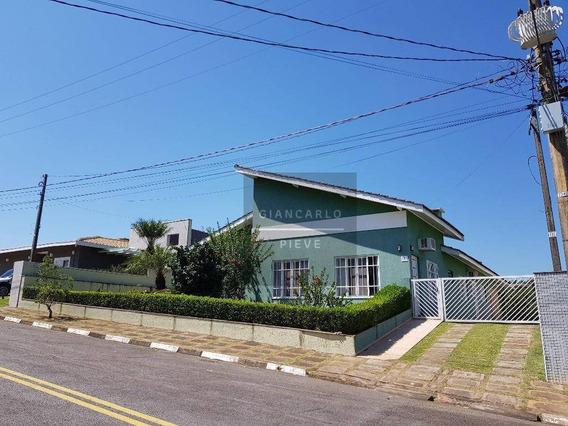 Casa Com 4 Dormitórios À Venda, 241 M² Por R$ 800.000 - Condomínio Serra Da Estrela - Atibaia/sp - Ca0369