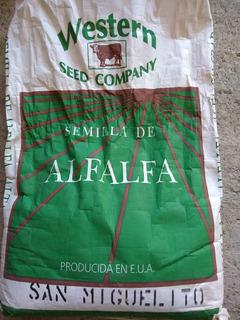 Semilla Peletizada De Alfalfa San Miguelito 5 Kg