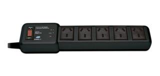 Protector De Tension 2200w Zapatilla 5 Tomas Normaliizado R