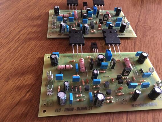 02 Placa Montada Amplificador Dx Blame St Hi End