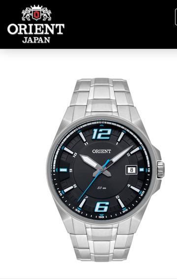 Relógio Orient Masculino Prata Mbss1345 Gasx