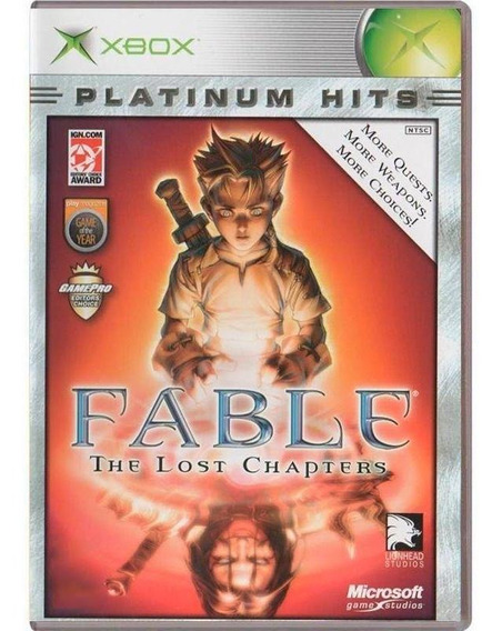 Fable The Lost Chapters Xbox Mídia Física Pronta Entrega