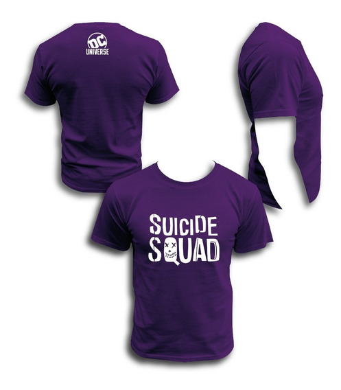 Playera Suicide Squad Batman Joker Dc Comics