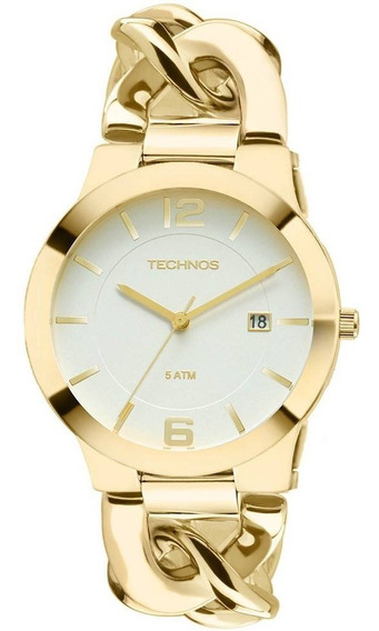 Relógio Technos Feminino Dourado - 2115ul/4b