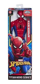 Muñeco Marvel Spiderman 30cm Hombre Araña Titan Hero Series