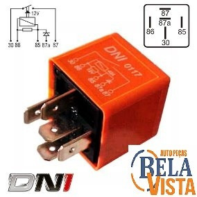 Relé Auxiliar Ar Condicionado Gol Bx - Dni0117