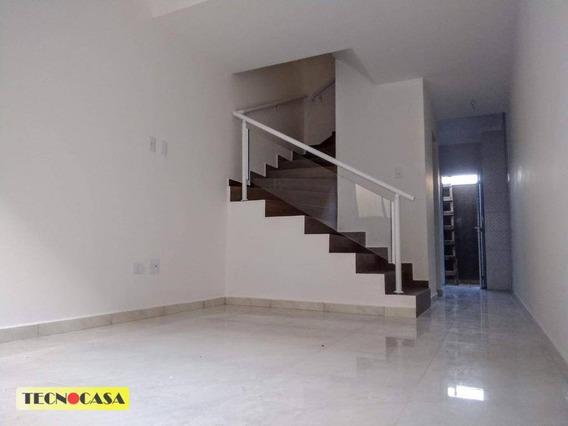 Excelente Sobrado Com 02 Dormitórios Venda No Bairro Tude Bastos (sítio Do Campo) Em Praia Grande/sp. - So2257
