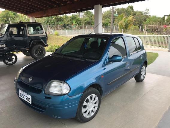 Renault Clio Rl 1.0 08 Valvulas !!!aceita Troca!!!