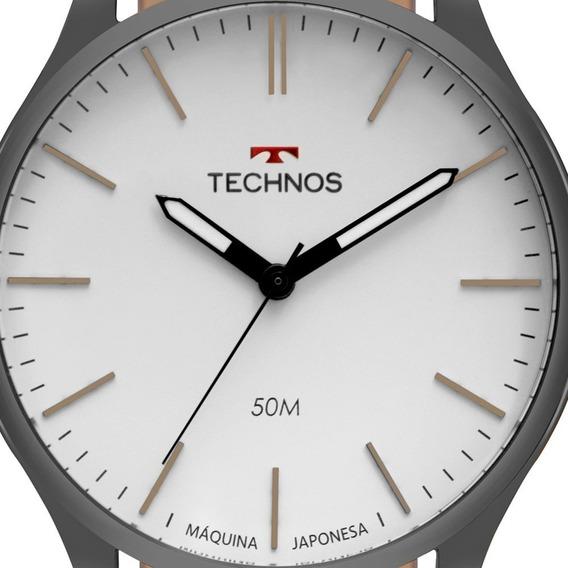 Relógio Masculino Technos Classic 2035mqq/2b Preto Analogico