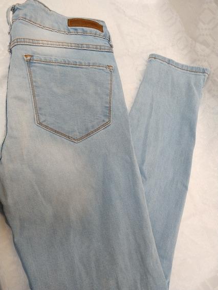 Pantalon Azul Claro Talla 7 De Xuidado Con El Perro