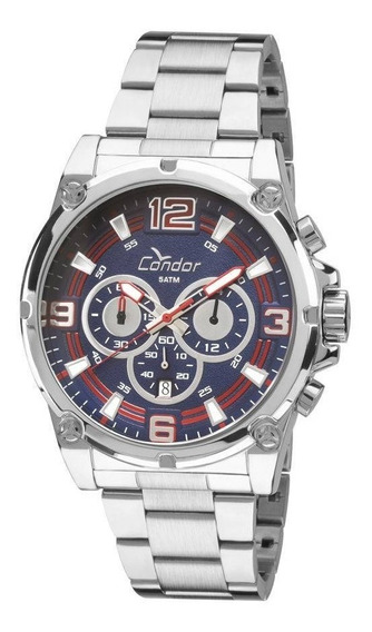 Relógio Condor Masculino Civic Covd53aa/3a - Prata