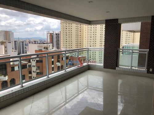 Apartamento Com 3 Dormitórios À Venda, 171 M² Por R$ 2.200.000,00 - Tatuapé - São Paulo/sp - Ap2505