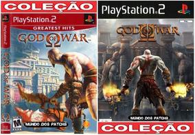 God Of War 1 E 2 Em Portugues Patch Playstation 2 Play 2 Ps2