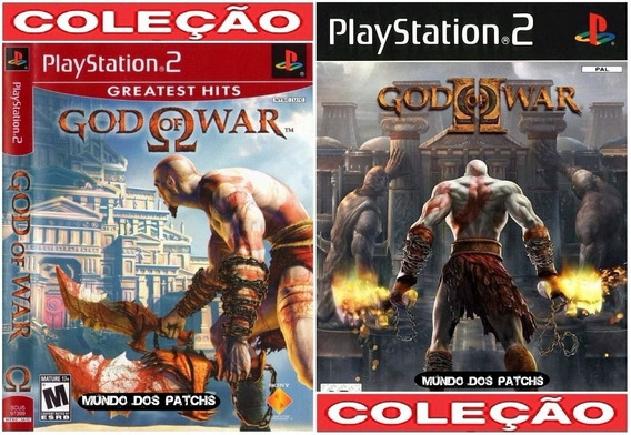 God Of War 1 E 2 Em Portugues Patch Playstation 2 Play 2 Ps2
