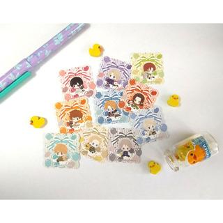 Set De 10 Stickers Hetalia Anime
