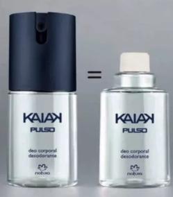 Deo Corporal Desodorante Spray Kaiak Pulso + Refil - Natura