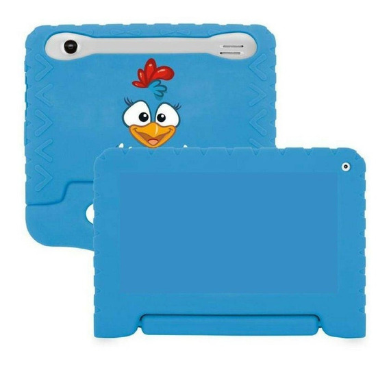 Capa Para Tablet 7 Emborrachada Infantil Galaxy Multilaser