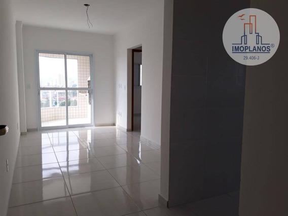 Apartamento Com 2 Dormitórios À Venda, 50 M² Por R$ 214.250 - Tude Bastos (sítio Do Campo) - Praia Grande/sp - Ap10768
