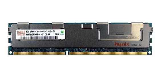 Memória Servidor Dell Hp Ibm Mac Pro 8gb Ddr3 1066mhz Ecc