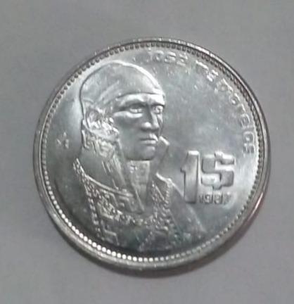 Moneda 1987 Acabado Espejo