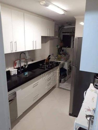 Apartamento Com 2 Dormitórios À Venda, 50 M² Por R$ 240.000,00 - Parque Erasmo Assunção - Santo André/sp - Ap9005