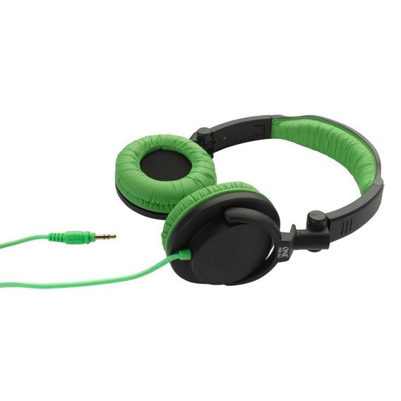 Fone De Ouvido Headphone Dobrável Leve One For All Verde