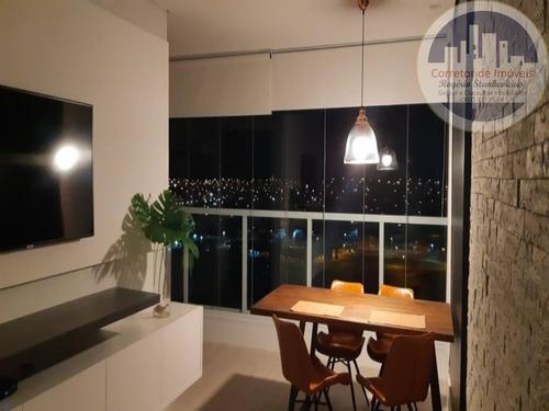 Imagem 1 de 30 de Excelente Apartamento Condominio Le Jardin Em Indaituba Com 2 Dormitorios, Sendo 1 Suite Com Closet Completo - Ap00013 - 68868242