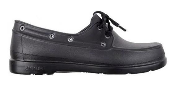 Zapato Escolar Unisex Humms Timmon 28 Al 39 (marrón Y Negro)