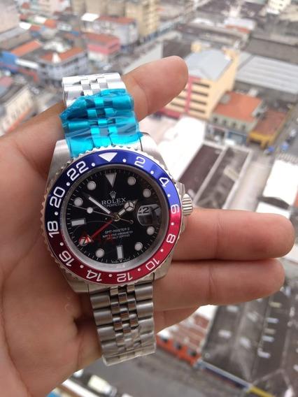 Relógio Masculino Super Men Vermelho Azul
