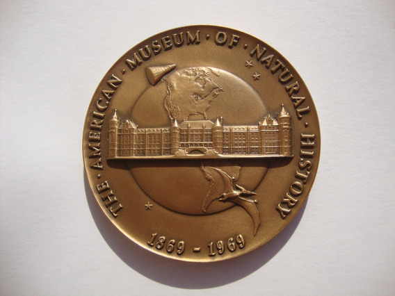 Medalla The American Museum Of Natural History 1969