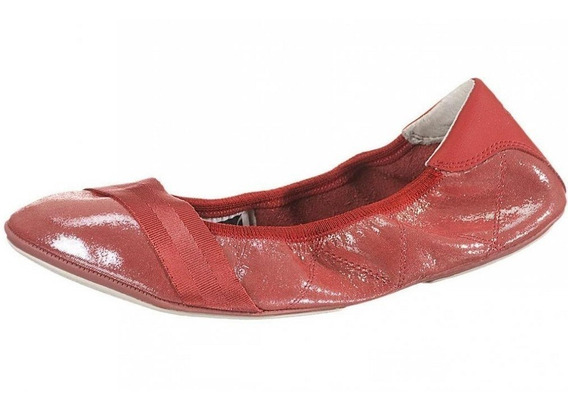 Puma Balerina Rhythm Shine Ballet Flat Faded Womens Rose Red