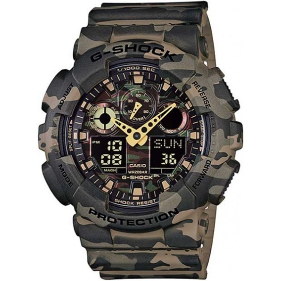 Relógio Casio G-shock Masculino Ga-100cm-5adr