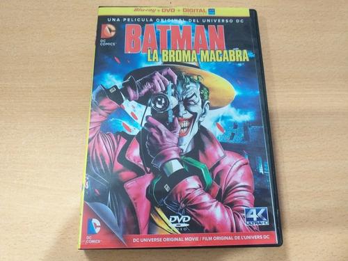 Imagen 1 de 1 de Batman: La Broma Macabra. Película Animada En Dvd Año: 2016