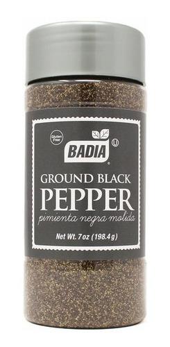 Pimienta Negra Molida X 198 Gr Badia - Especias Sin Tacc