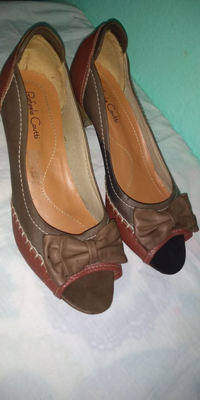 Confortável Sapato Feminino Couro Social